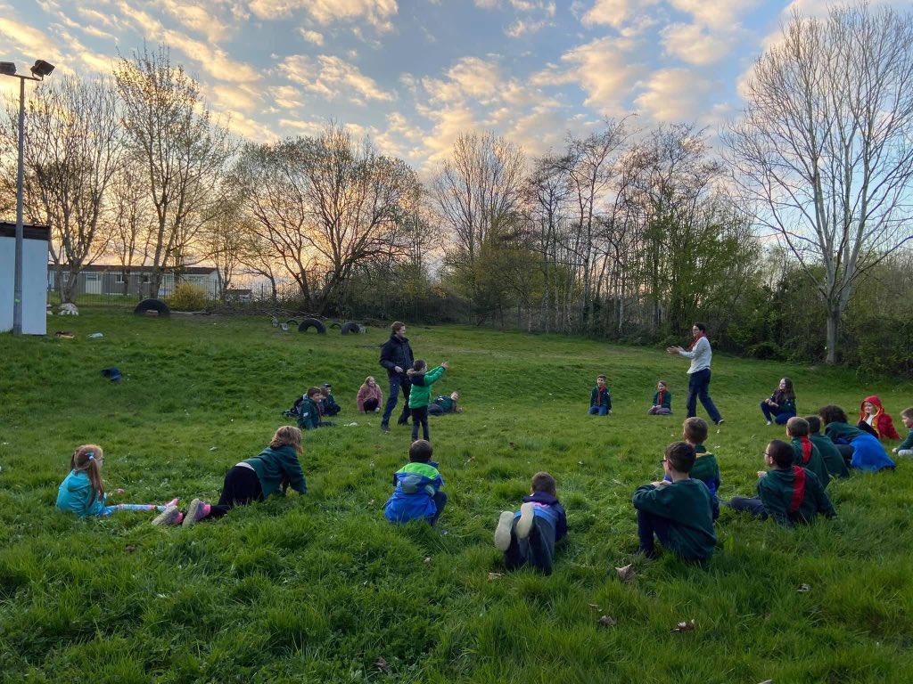 1st Pentwyn meeting outdoors